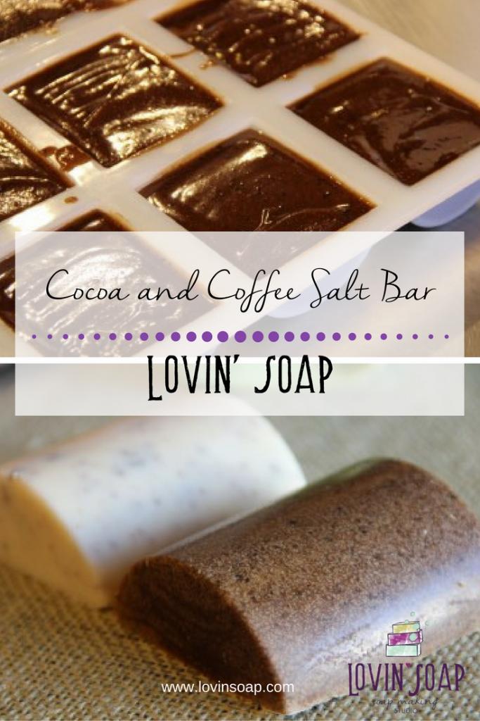 Cocoa and Coffee Salt Bar