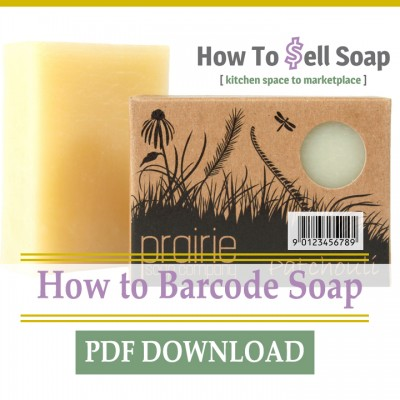 how to barcode soap
