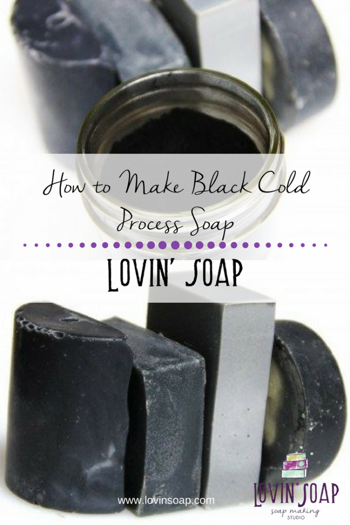 How to Make Black Cold Process Soap