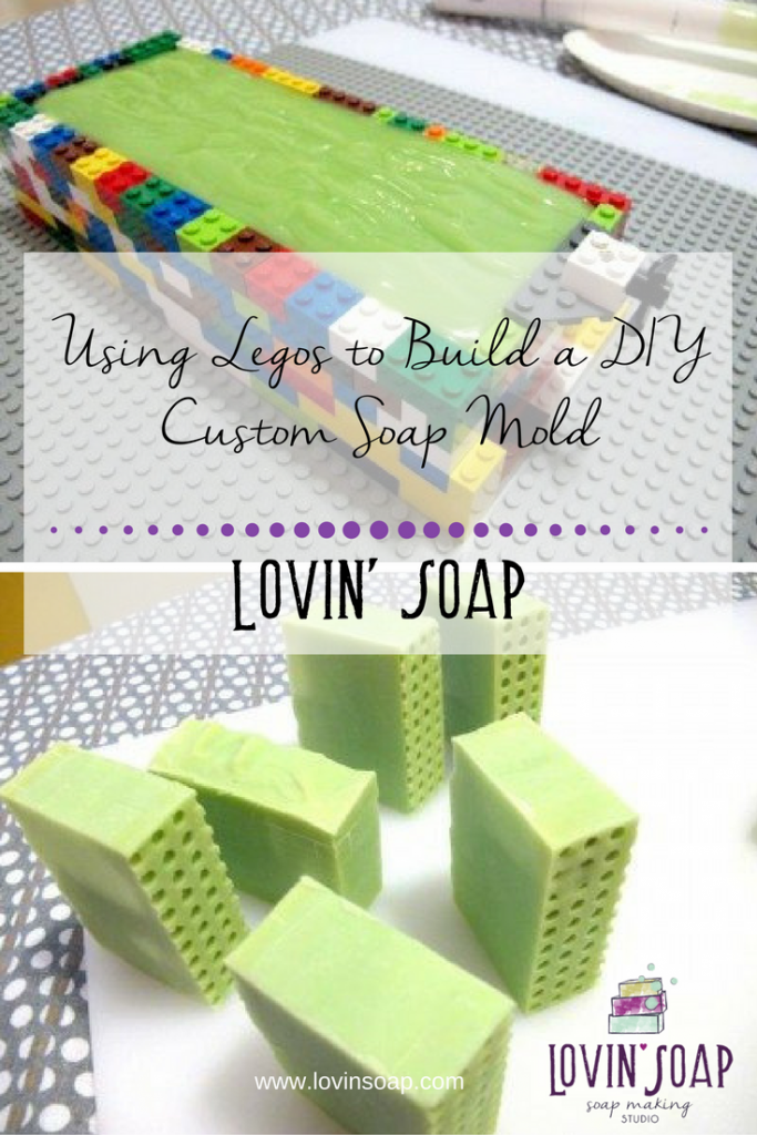 Using Legos to Build a DIY Custom Soap Mold