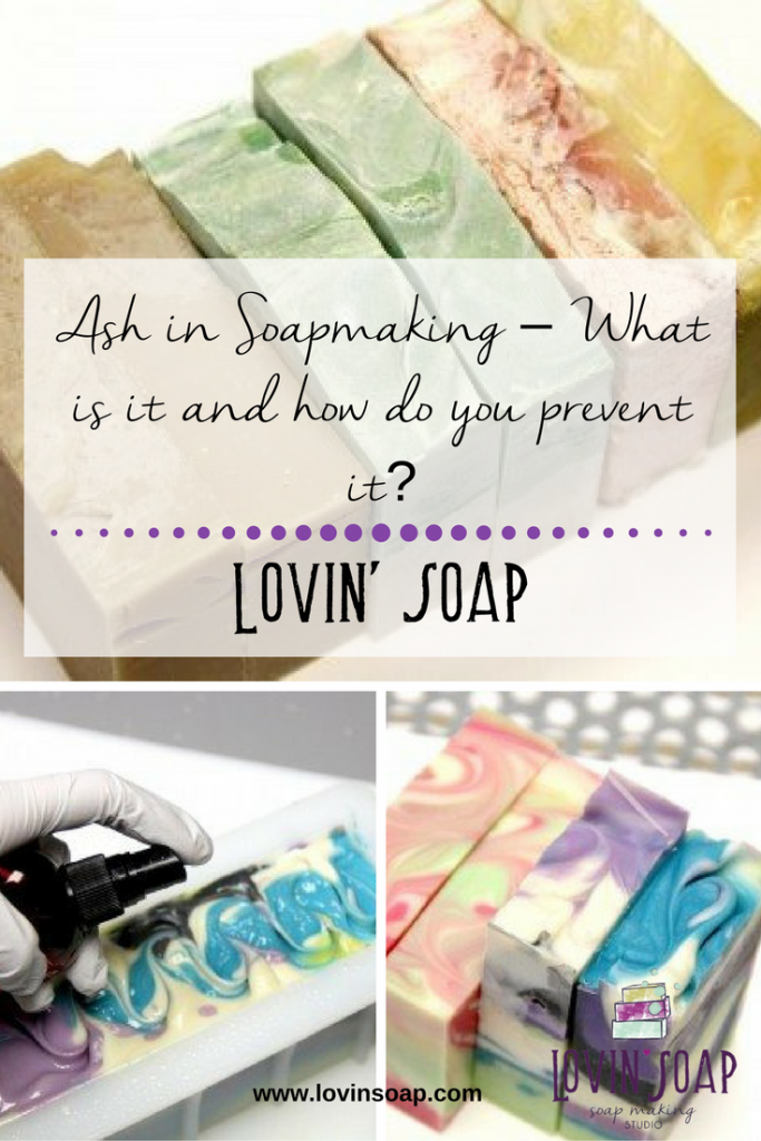 Ash in Soapmaking – What is it and how do you prevent it-