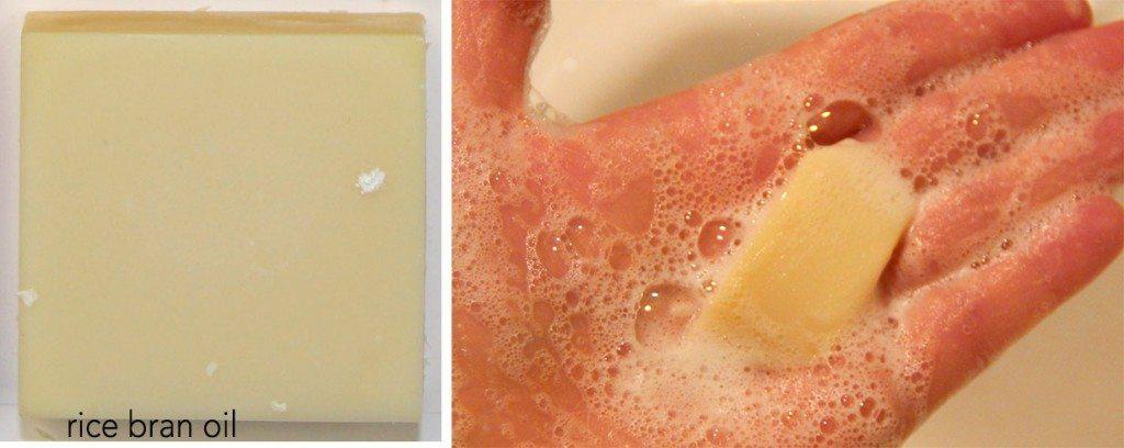 rice bran oil in soap