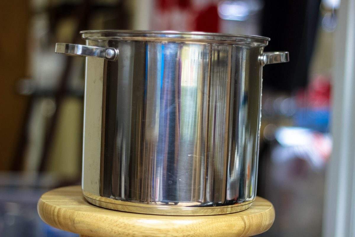 stainless steel for making soap