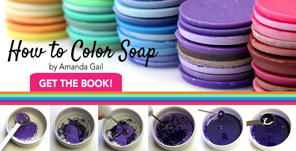 how to color soap
