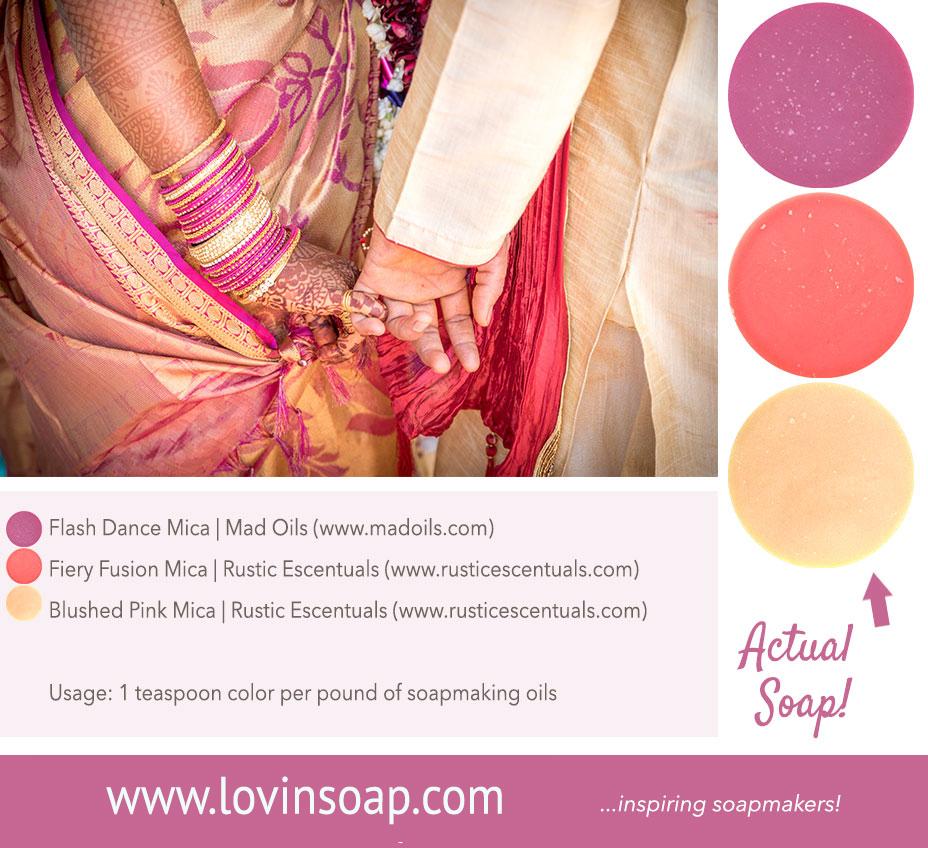 wedding henna color palette
