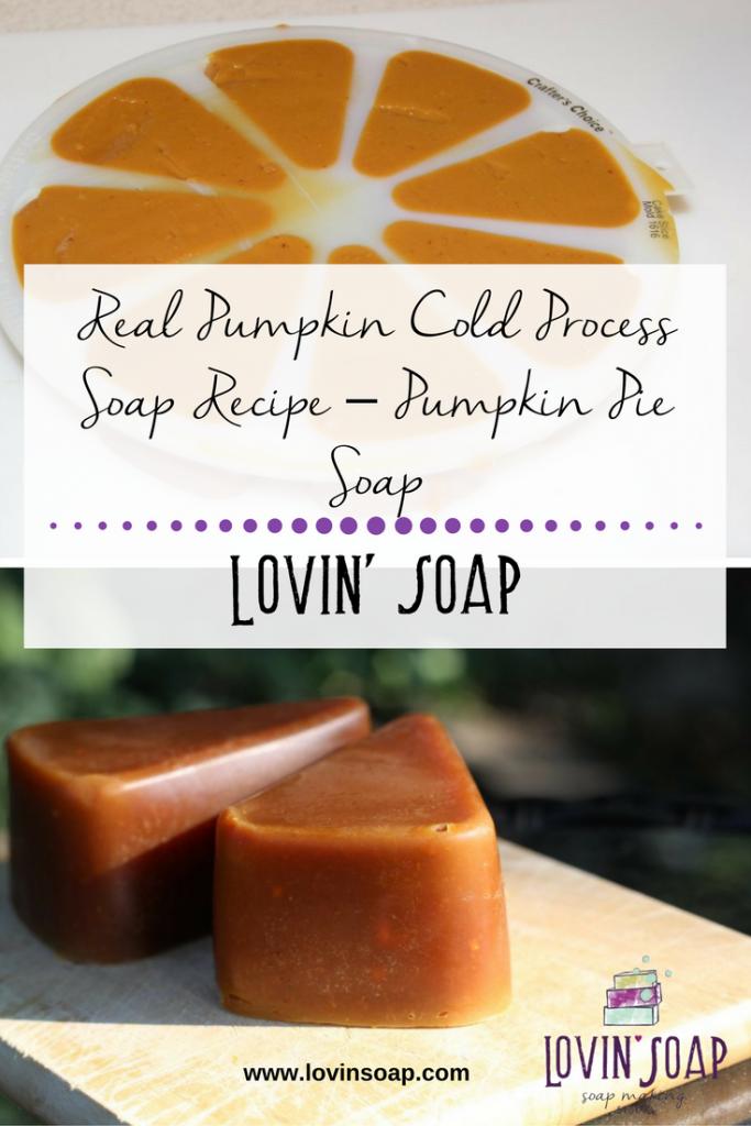 real pumpkin soap recipe
