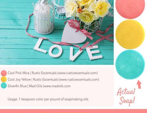 Love Soap Color Palette