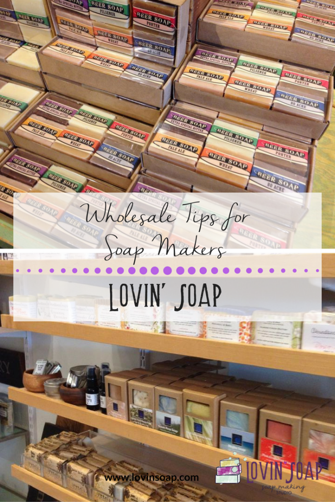 wholesale tips for soap makers