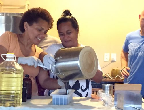 Soap Making in Fiji