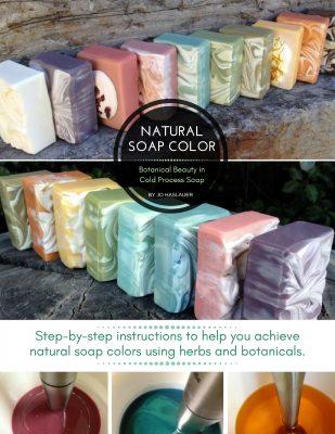 natural soap colorants