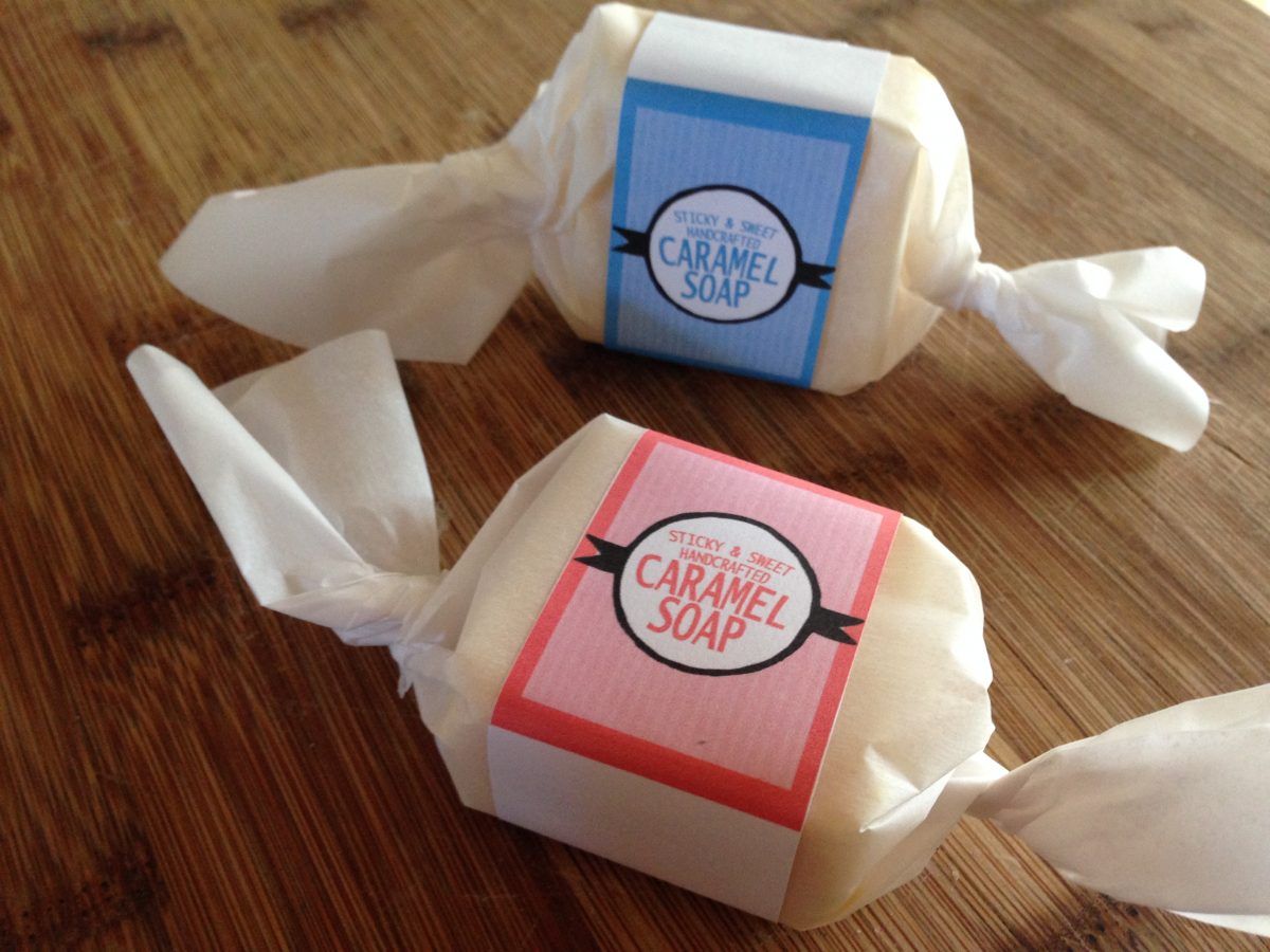 holiday soap packaging ideas