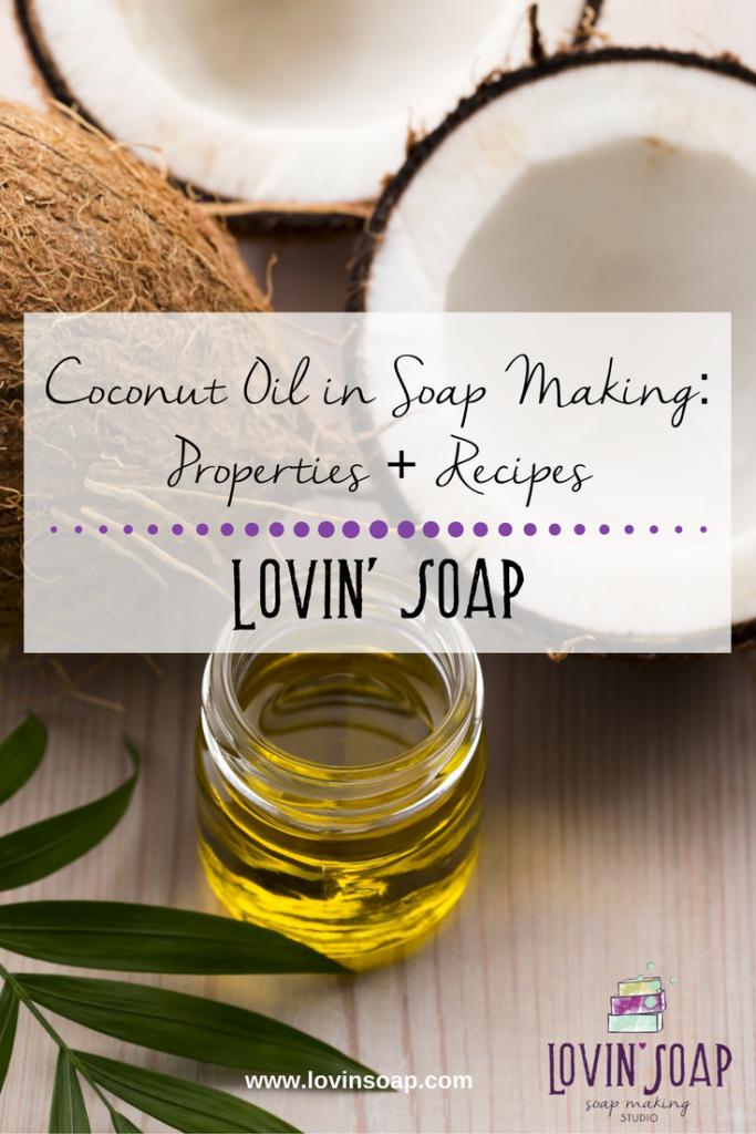 Coconut Oil in Soapmaking