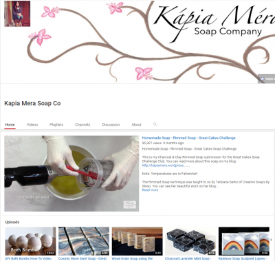 Holly and Steve with Kapia Mera Soap Co