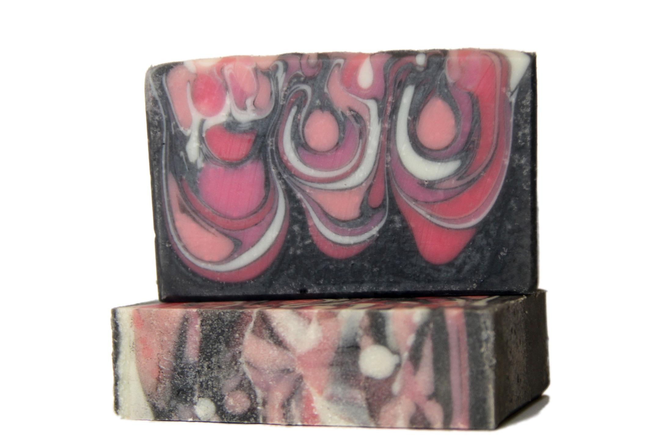 Flowerbomb Soap Design
