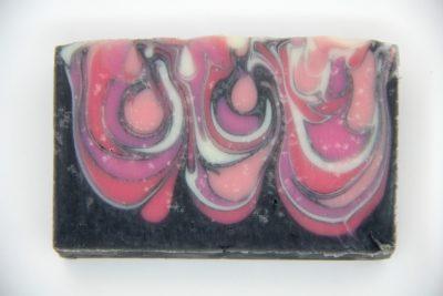 stearic spots in soap
