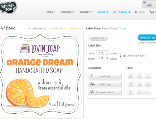 Design Labels and Promotional Stickers for Your Handcrafted Soap Business (Video)