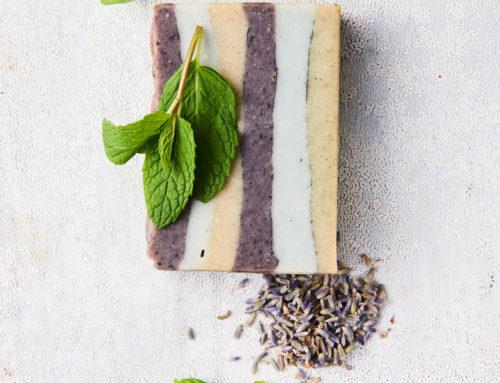 Basil, Lavender & Mint Cold Process Soap
