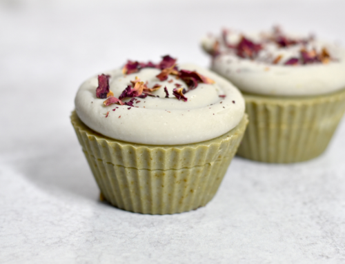 A Gallery of Naturally Colored Milk Cupcake Soaps